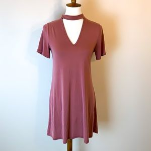 Hibiscus Red Shift Dress